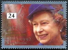 Rainha Elizabeth Accession Anniversary Fotografia de Stock