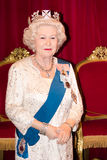 Rainha Elizabeth II foto de stock
