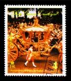 Rainha Elizabeth II em uma ocasião pública, Elizabeth II, 25o Coro Fotos de Stock Royalty Free