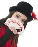 Rainha nova dos corações Foto de Stock