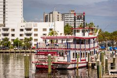 Rainha Paddleboat do rio no Ft lauderdale Fotos de Stock Royalty Free