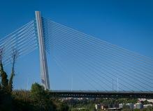 Rainha Santa Isabel Bridge à Coimbra, Portugal Image libre de droits