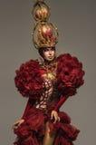Rainha vermelha bonita da xadrez foto de stock royalty free