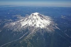 Rainier Arial Foto de Stock Royalty Free