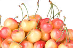 Rainier Cherries Close Up Royalty Free Stock Photo