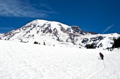 Rainier Expedition Stock Images
