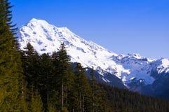 Rainier Face del oeste Foto de archivo