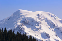 Rainier Peak stock afbeelding