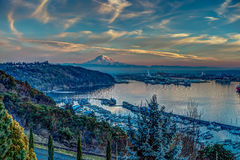 Rainier And Port - Alternate Reality Stock Images