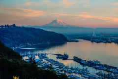 Rainier And Port - Alternate Reality 2 Royalty Free Stock Image