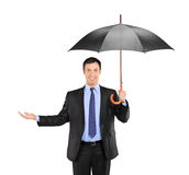 Is it raining? Royalty Free Stock Image