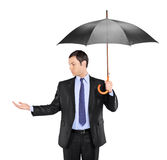 Is it raining? Stock Images