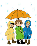 Raining Stock Photography