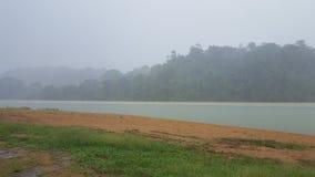 Raining in Brokopondo stock photos
