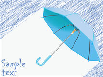 Raining concept Royalty Free Stock Images