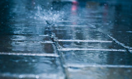 Raining day Royalty Free Stock Photos