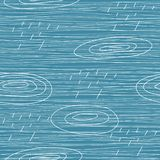 Raining day seamless background in vector Stock Photo