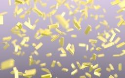Raining gold Royalty Free Stock Images