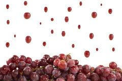 Raining grapes Royalty Free Stock Photo