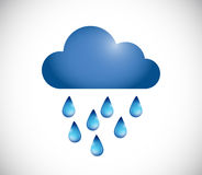 Raining illustration design Stock Photo