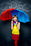 Raining Royalty Free Stock Photo