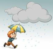 Raining Royalty Free Stock Photos