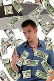 Raining Money Stock Photography