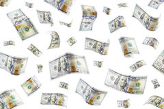 Raining Money Royalty Free Stock Photography