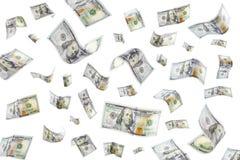 Raining Money Royalty Free Stock Images