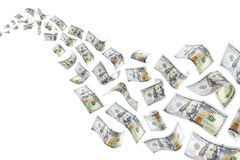Raining Money Stock Photography