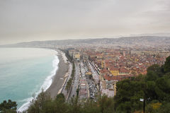 Raining in Nice Stock Images
