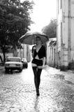 Raining portrait Royalty Free Stock Photo