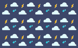 RAINING SKY Royalty Free Stock Photography