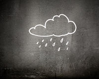 Raining weather Royalty Free Stock Images