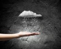 Raining weather Stock Photos