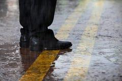 Rainning day Stock Photo