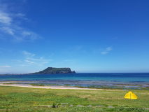 After rainning sungsan ilchulbong in jeju Stock Photography