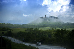 After rainning in tuscany. Italy Royalty Free Stock Photos
