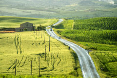 After rainning in tuscany. Italy Stock Photo