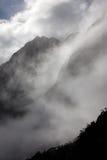 Rainny i mgłowy dzień Obraz Royalty Free