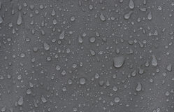 Rainproof tent sheet with rain drops Royalty Free Stock Photography