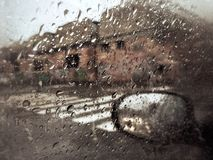 rainstorm Royaltyfri Fotografi