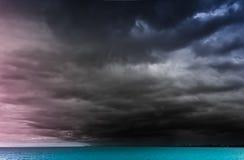 rainstorm Arkivfoton