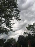 rainstorm Fotografia Stock Libera da Diritti