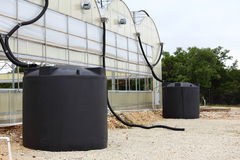 Rainwater Collection System Stock Photos