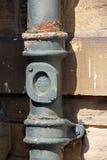 Rainwater pipe Stock Images