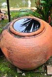 Rainwater storage jars Royalty Free Stock Photos