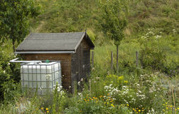 Rainwater tank Stock Images