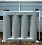 Rainwater tank Royalty Free Stock Images