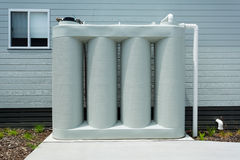 Rainwater tank Royalty Free Stock Image
